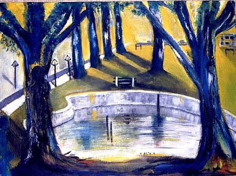 Degado College Pond by Patricia Velasquez de Mera