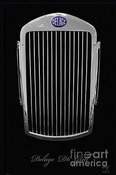 Delage D6 Grill by Curt Johnson