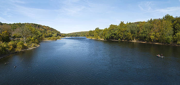 Delaware River Panorama by Andrew Kazmierski