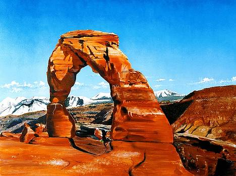 Delicate Arch by C S Bailey