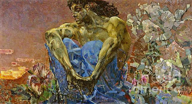 Demon 1890 by Padre Art