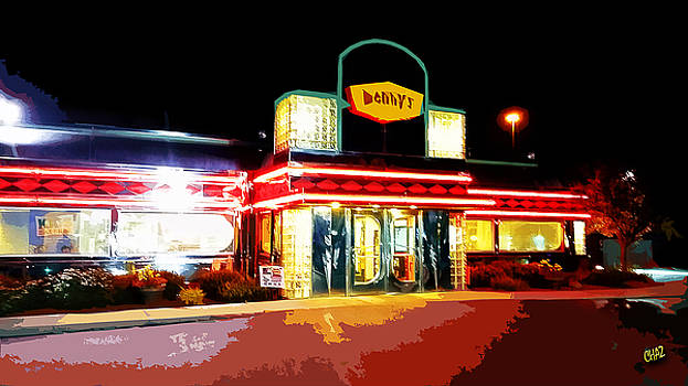 Denny's Diner by CHAZ Daugherty