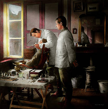 Dentist - The horrors of war 1917 by Mike Savad