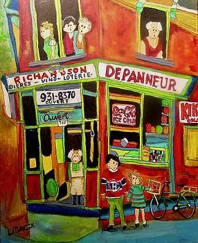 Michael Litvack - Depanneur Richardson Montreal Memories