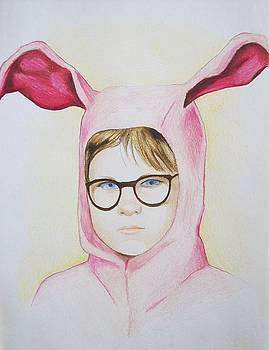 Deranged Easter Bunny by Amber Stanford