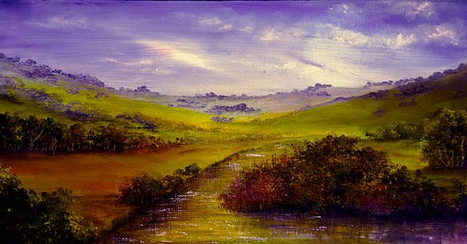 Derbyshire Evening by Ann Marie Bone