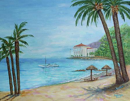 Descanso Beach, Catalina by Lynn Buettner