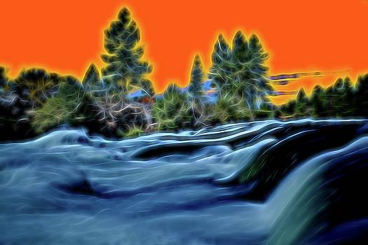 Deschutes River I by Christian Heeb