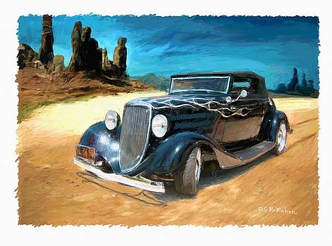 Desert Drive by RG McMahon