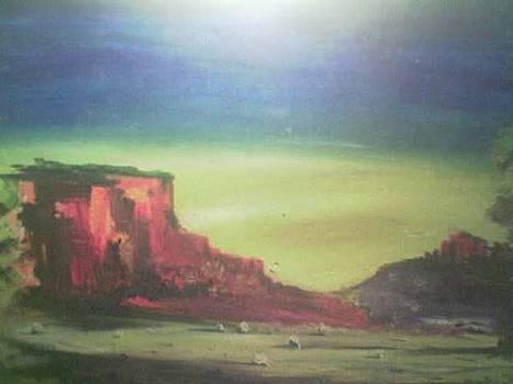 Desert by Lalhmunlien Varte