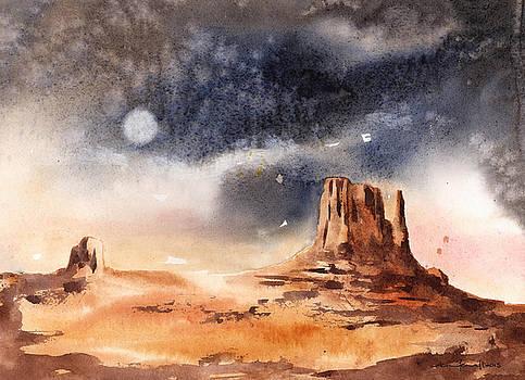 Desert Landscape by Alison Fennell