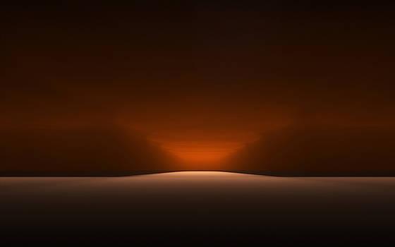 Desert Moonlight by GJ Blackman