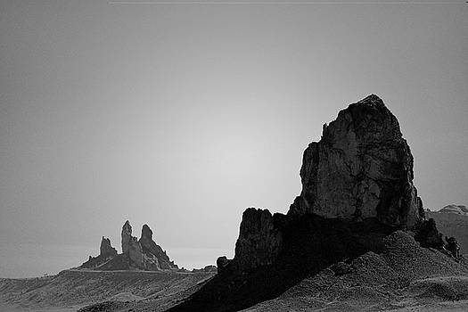 David Gordon - Desert Pinnacles I BW