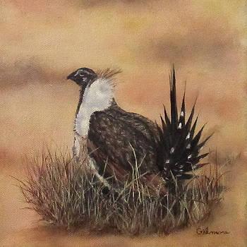 Desert Sage Grouse by Roseann Gilmore