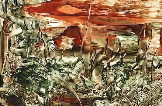 Desert Skyline by Cathy Minerva