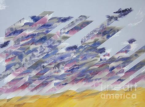 Desert under Storm by Jeni Bate
