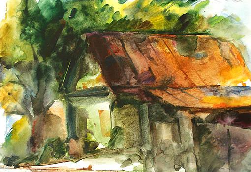 Deserted House by Natoly Art
