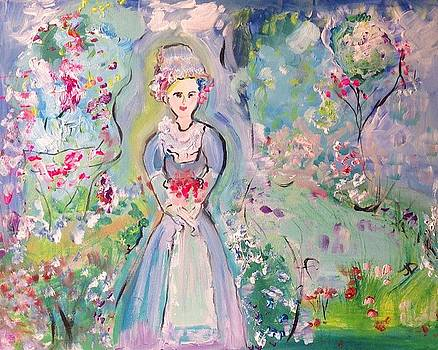 Deserved pride in the garden  by Judith Desrosiers