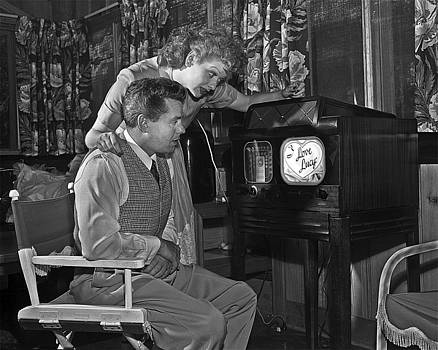 Desi and Lucy Arnaz by Robert Harland Perkins
