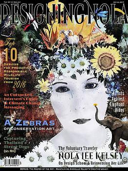 Designing Nola Magazine by Nola Lee Kelsey