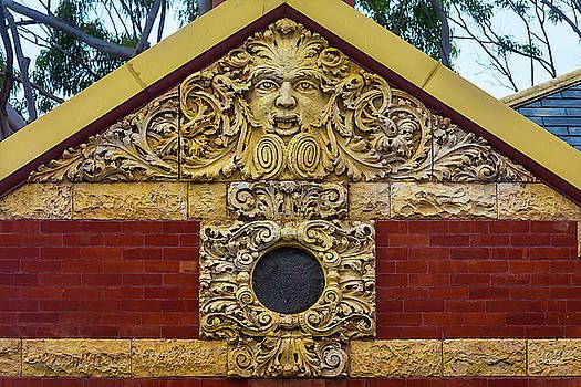 Detail San Luis Obispo Carnegie Library by Garry Gay