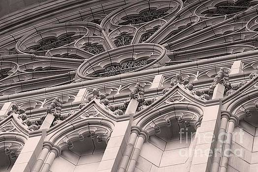 Details Of The National Cathedral by John S