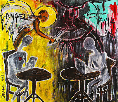 Devil in the Cafe by Marisol McKee