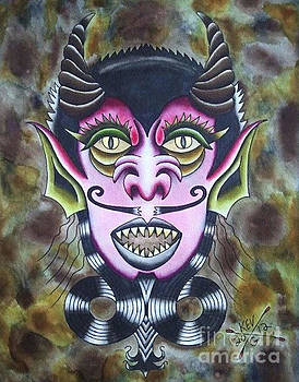 Devil Man by Kev G