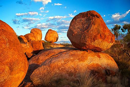 Devils Marbles by David Joshua Ford