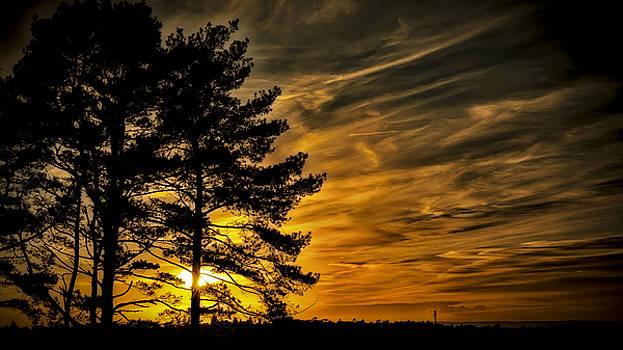 Devils Sunset by Chris Boulton