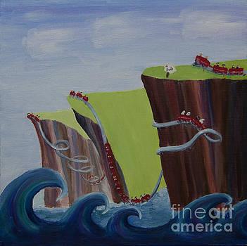 Devon - The Roller Coaster Coast by Kathryn Bell