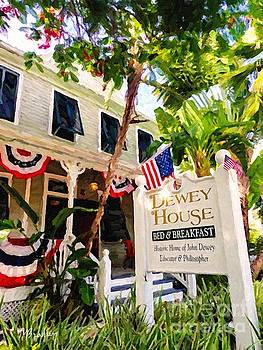 Dewey House - Key West by Tammy Lee Bradley