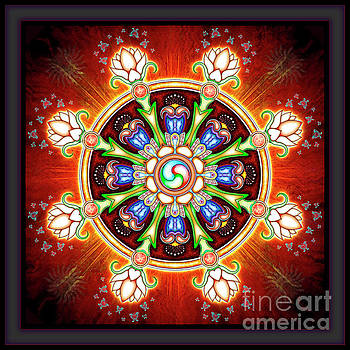 Dharma Wheel by Dirk Czarnota