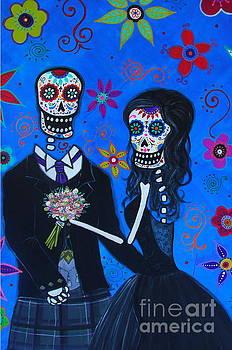 PRISTINE CARTERA TURKUS - DIA DE LOS MUERTOS SPECIAL WEDDING