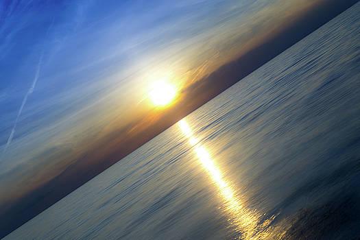 Diagonal Sunset by Nebojsa Novakovic