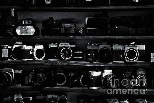 Different old cameras by Magomed Magomedagaev