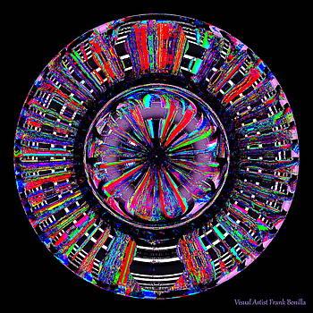 Digital Color Wheel Two by Visual Artist Frank Bonilla