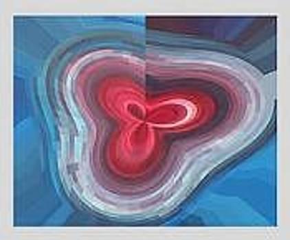 Digital Original Abstract 3 by Mohammad Safavi naini
