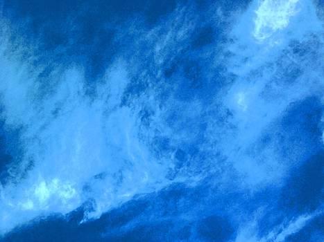 Digital Palette Knife Painted Skies by Skyler Tipton
