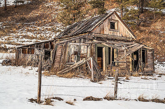 Dilapidated Home by Sue Smith