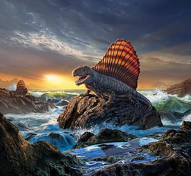 Dimetrodon by Jerry LoFaro