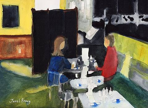 Diners at Rockfish Grill 1 by Janel Bragg