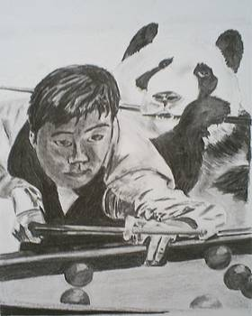 Ding Junhui Snooker by James Dolan