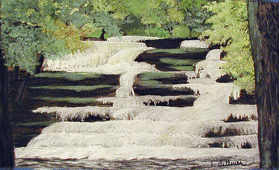 Dingman's Falls by Norma Tolliver
