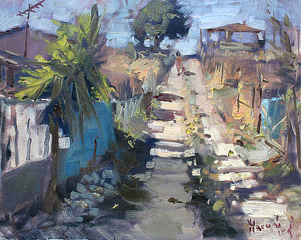 Ylli Haruni - Dirt Road at Kostas Garden