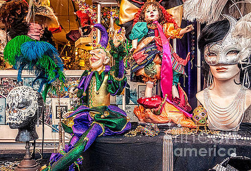 Kathleen K Parker - Display Window -Mardi Gras NOLA