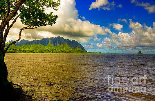 Distant Ko'olau's by Kelly Wade