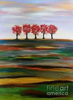 Distant Trees by Carolyn Weir