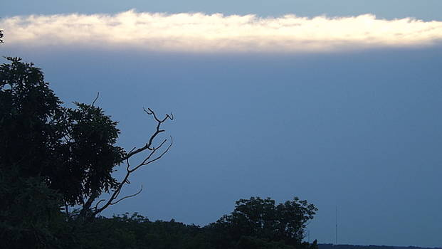 Distant White Clouds by Don Koester