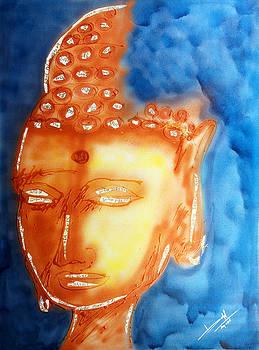 Divine Budha by Baljit Chadha
